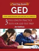 Ged Study Question Book 2020 And 2021 All Subjects
