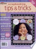 Scrapbooking Tips Tricks