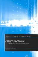 Midwest Studies in Philosophy, Figurative Language