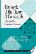 The World of the Theory of Constraints