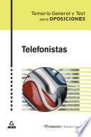 Telefonistas  Temario Y Test coleccion Temarios Generales ebook