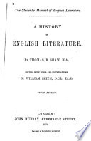 A History of English Literature Pdf/ePub eBook