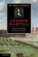 The Cambridge Companion to Andrew Marvell