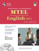 Massachusetts MTEL English  07