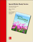 Loose Leaf for Beginning Algebra