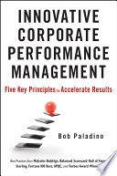Innovative Corporate Performance Management