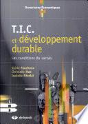 T I C  et d  veloppement durable