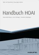 Handbuch HOAI - inkl. Arbeitshilfen online