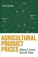 Agricultural Product Prices  Fifth Edition