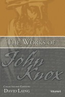 download ebook the works of john knox, volume 6: letters, prayers, and other shorter writings with a sketch of his life pdf epub