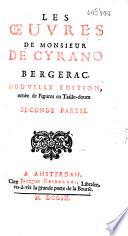 illustration du livre Les Oeuvres de monsieur De Cyrano Bergerac. Nouvelle edition, ornée de figures en taille-douce. Premiere partie [-Seconde partie]