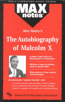 Alex Haley s The Autobiography of Malcolm X