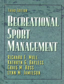 Recreational Sport Management PDF
