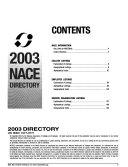 N A C E  Directory