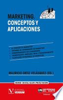 Marketing  Conceptos y aplicaciones