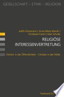 Religiöse Interessenvertretung