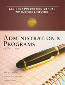 Accident Prevention Manual for Business   Industry