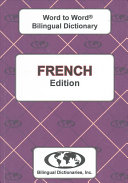 French Word to Word Bilingual Dictionary