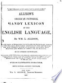 Allison s American Pictorial Handy Lexicon of the English Language