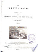 The Athenaeum Journal of Literature, Science and the Fine Arts