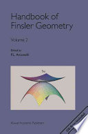 Handbook of Finsler geometry  2  2003