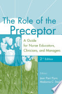 The Role Of The Preceptor book