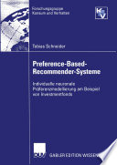 Preference-Based-Recommender-Systeme