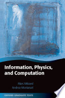 Information  Physics  and Computation