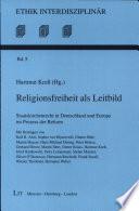 Religionsfreiheit als Leitbild