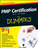 PMP Certification All In One Desk Reference For Dummies