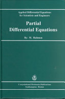 Applied Differential Equations for Scientists and Engineers