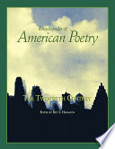 Encyclopedia of American Poetry  The Twentieth Century