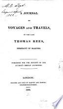 illustration du livre A Journal of Voyages and Travels