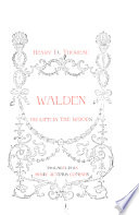 Walden  Or  Life in the Woods