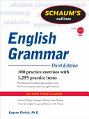 Schaum's Outline of English Grammar, Third Edition