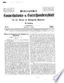 Medicinisches Conversations  und Correspondenzblatt f  r die   rzte im K  nigreich Hannover