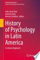 History Of Psychology In Latin America