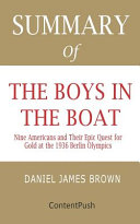Summary Of The Boys In The Boat