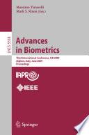 Advances in Biometrics