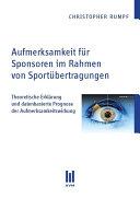 Aufmerksamkeit für Sponsoren im Rahmen von Sportübertragungen
