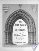 The Red Book of Menteith Book PDF