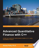 Advanced Quantitative Finance with C