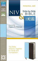 NIV and the Message Side by Side Bible  Personal Size