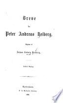 Breve fra Peter Andreas Heiberg