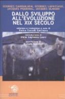 Dallo sviluppo all'evoluzione nel XIX secolo