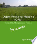 Object Relational Mapping  ORM   MongoDB  Mongoosejs and Node js By Example