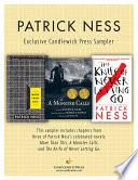 Patrick Ness: Exclusive Candlewick Press Sampler