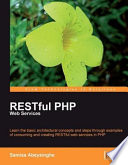 Awesome RESTful PHP Web Services