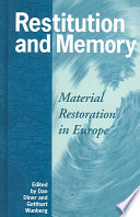 Restitution and Memory