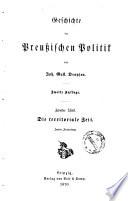 Geschichte der preußischen Politik